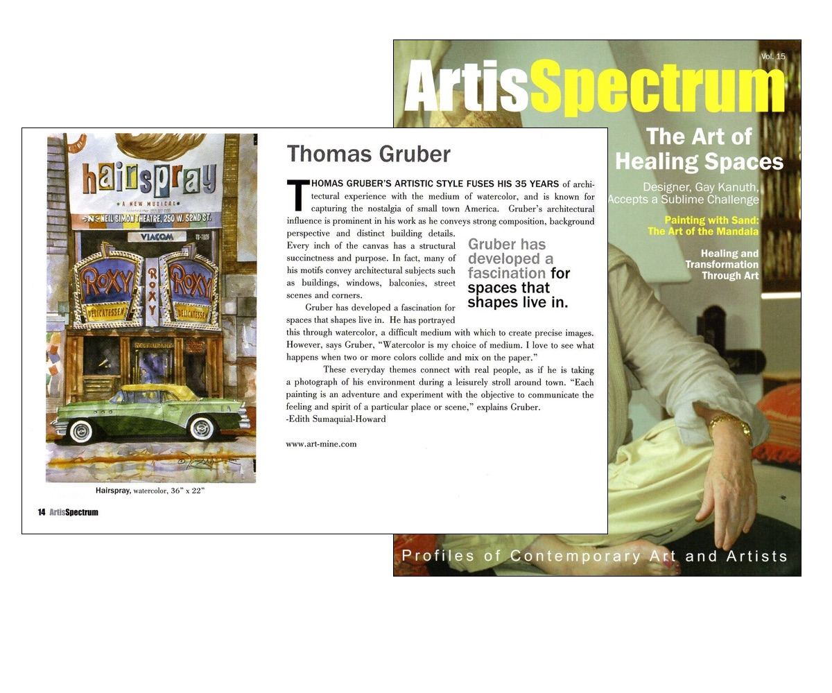 Thomas Gruber - Artis Spectrum Article 2
